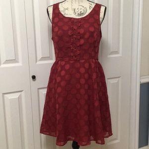Disney Lauren Conrad red dress